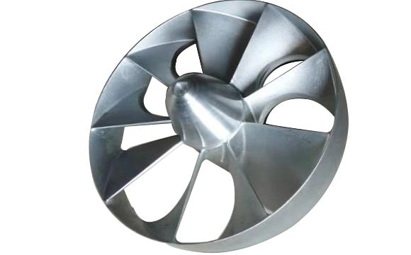 安全节能型螺旋桨非中心排气式