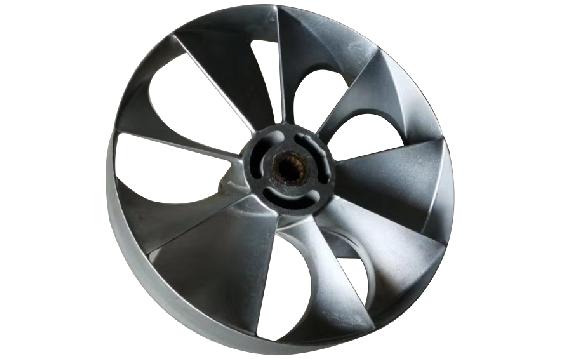 安全节能型螺旋桨中心排气式